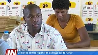 Comissão política regional de Santiago Sul do PAICV reunida na sua 26ª reunião o