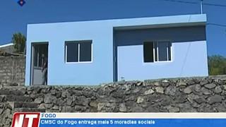 CM de Santa Catarina do Fogo entrega mais 5 moradias sociais