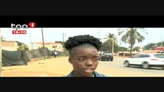 Cabinda - Vias secunda?rias recebem asfalto