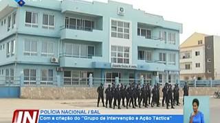 DN Polícia Nacional, avalia positivamente capacidade de intervenção a nível do t