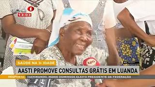 Sau?de na 3ª Idade - AASTI promove  consultas gra?tis em Luanda