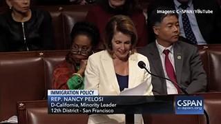 Congressista falou durante mais de oito horas em defesa dos imigrantes ilegais