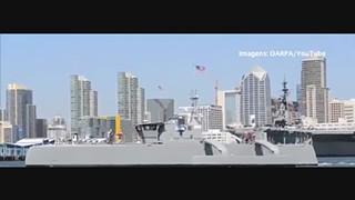 ACTUV: o 'caça-submarinos' autonómo da Marinha norte-americana