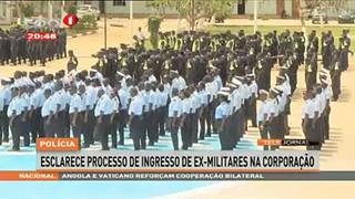 Policia esclarece processo de Ingresso de Ex-Militares na Corporação