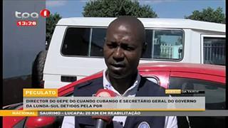 Peculato - Director do GEPE do Cuando Cubanco e Secreta?rio geral do Governo da