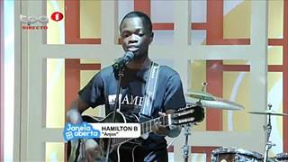 Hamiltom B participante do Concurso Angolan Music Bar