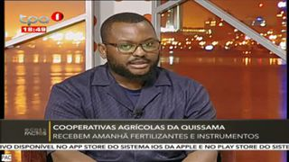 Cooperativas Agri?colas Da Quissama - Recebem amanha? fertilizantes e instrument