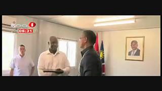 Angola e Nami?bia estreitam cooperac?a?o no Sector de Energia no Cunene