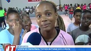 Termina em Santa Maria, Torneio de Futsal com a vitória do Borússia em masculino