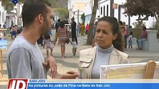 As pinturas de João de Pina na festa de San Jon da Brava