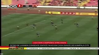 """Petro de Luanda consente empate nulo em casa """"Liga dos Campeões Africanos"""""""