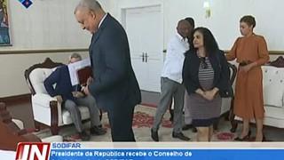 Presidente da República recebe o Conselho de Administração da SODIFAR