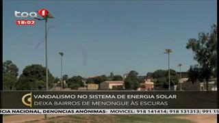 Vandalismo no Sistema de Energia Solar no Cuando Cubango