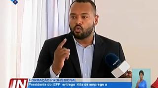 Presidente do IEFP entrega kits de emprego a jovens do interior da ilha Santiago