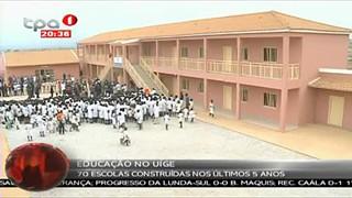 70 escolas construidas no Uige nos u?ltimos 5 anos