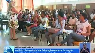 Instituto Universitário da Educação encerra formação em método kodály financiado