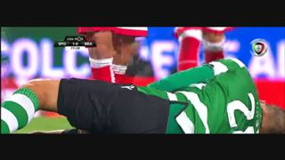 Sporting CP, Caso, Bas Dost, 78m