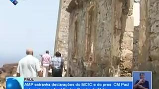 AMP estranha declarações do MCIC e do Presidente da CM de Paúl sobre obras no fa