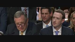 Senador Durbin vs Zuckerberg