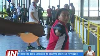 Federação Cabo-verdiana de Esgrima promove formação para divulgação da modalidad