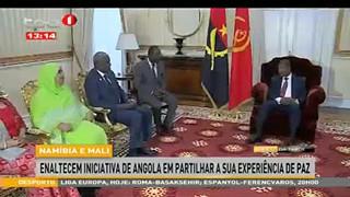 Nami?bia e Mali - Enaltecem iniciativa de Angola em partilhar a sua experie?ncia