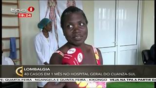Lombalgia - 40 Casos em me?s no hospital geral do Cuanza Sul