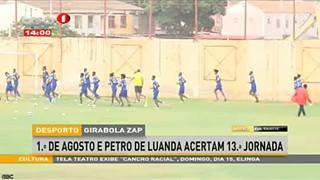 Pedtro de Luanda e CR Libolo acertam 13ª Jornada do GIRABOLA