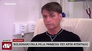Bolsonaro fala pela primeira vez após atentado