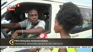 Prevenc?a?o Rodovia?ria - Taxistas sensiblizados no Bengo