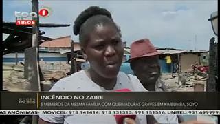 5 membros da mesma fami?lia com quaimaduras graves em Kimbumba, Soyo