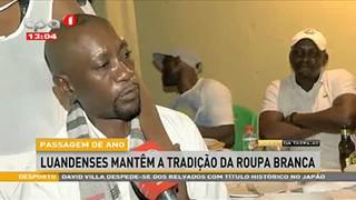 Passagem de Ano - Angolanos desejam que 2020 seja um Ano de muita prosperidade