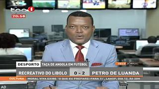 Tac?a de Angola em futebol - Recreativo do libolo 0 - 2 Petro de Luanda
