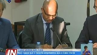 MPD realça que o recente empréstimo que a Cabo Verde Airlines contraiu não vai a