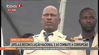 Igreja Tocoísta apela à reconciliação Nacional e ao Combate à Corrupc?a?o