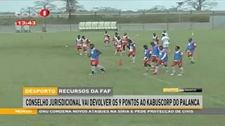 Desporto - Recurso da FAF conselho jurisdicional vai devolver os 9 ao kabuscorp