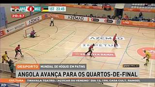 Mundial de ho?quei em patins - Angola avanc?a para os quartos-de-final