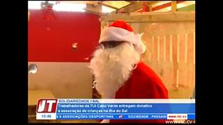 Trabalhadores da TUI Cabo Verde entregam donativo à associação de crianças na il