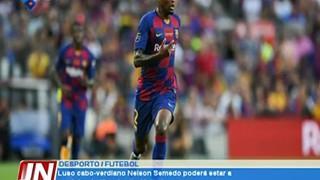 Luso cabo-verdiano Nelson Semedo poderá estar a caminho do Manchester United