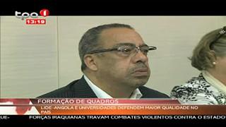 Formac?a?o de Quadros - LIDE-Angola e Universidades defendem maior qualidade no