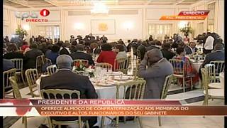 Presidente da República discursa após Última Sessão do Conselho de Ministros