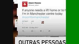Manchester abriu portas para ajudar na tragédia