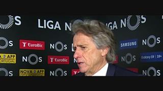 Liga (27ª): Flash interview Jorge Jesus