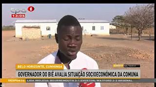 Governador do Bié avalia situação socioeconómica do Cunhinga