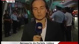 Pedro Santana Lopes e a saída inesperada de uma entrevista televisiva