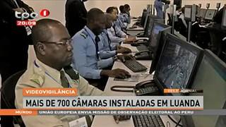 Vi?deo Vigila?ncia - Mais de 700 ca?maras instaladas em Luanda
