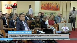 Angola - Reino Unido, Taag quer retomar ligac?a?o ae?rea com Reino Unido