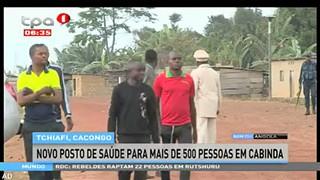 Tchiafi, Cacongo - Novo posto de sau?de para mais de 500 pessoas em Cabinda