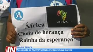 Associação do Alumni Yali Cabo Verde promove marcha para marcar o Dia de Áfr