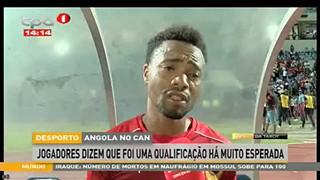 Angola no CAN, jogadores dizem que foi uma qualificação há muito esperada