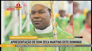 Apresentac?a?o de Dom Zeca Martins na Arquidiocese do Huambo